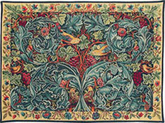 Acanthus and Vine - the first tapestry designed by William Morris