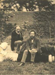 Edward Burne-Jones and William Morris in 1874