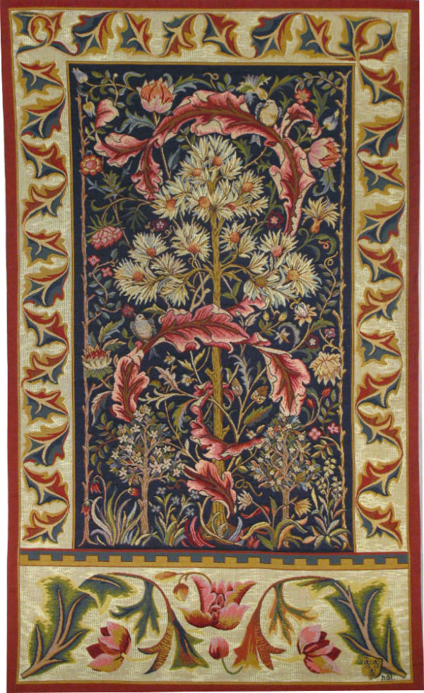 Acanthus tapestry - Morris & Co tapestries