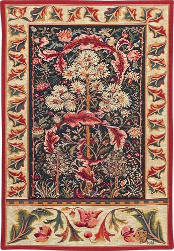 The Acanthus tapestry by John Henry Dearle for Morris & Co