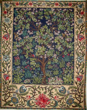 The Tree of Life tapestry - William Morris wall tapestries