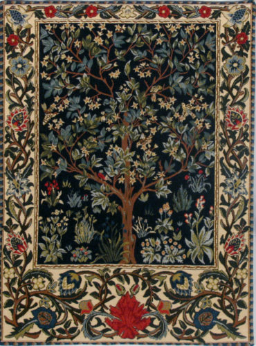 William Morris Tree of Life - small tapestry