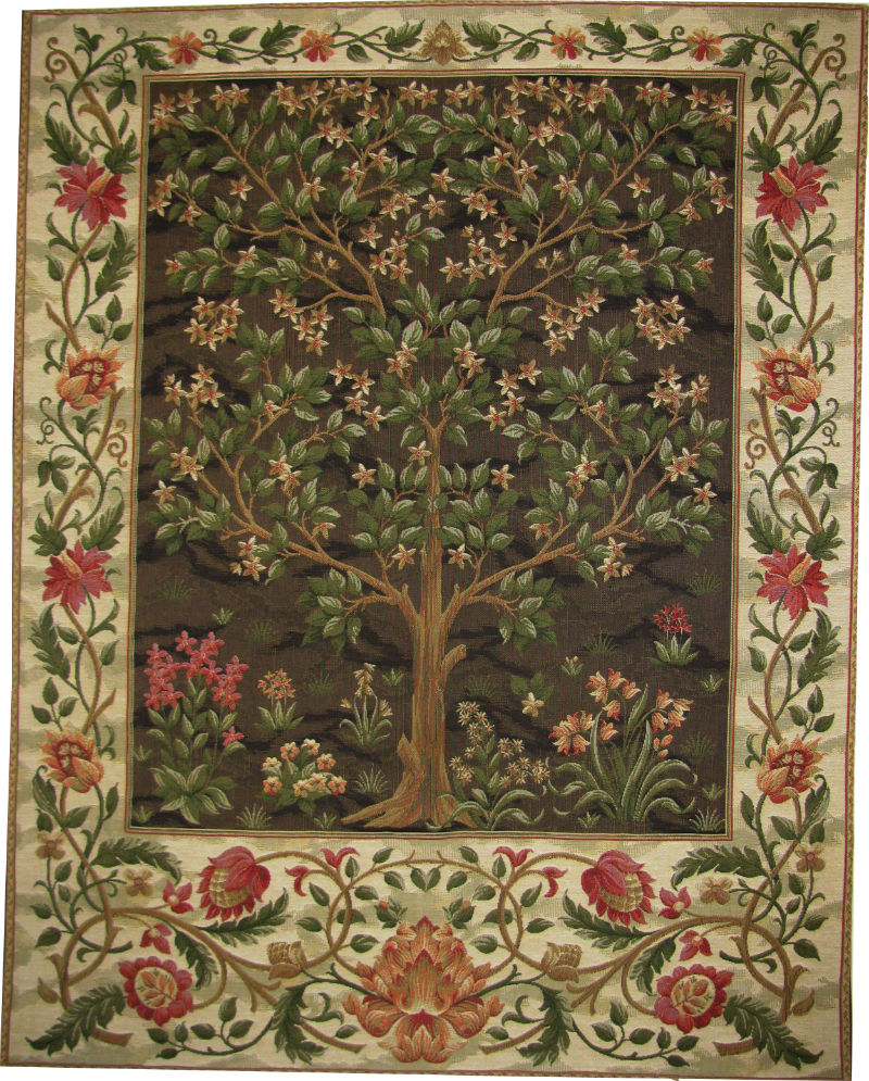 william morris tree of life tapestry arts and crafts