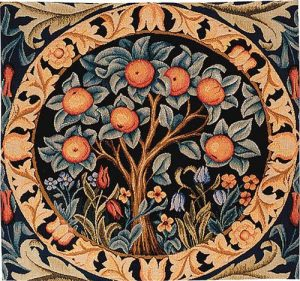 The Orange Tree tapestry from Morris & Co