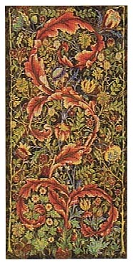 William Morris portiere, medium size tapestry wallhanging
