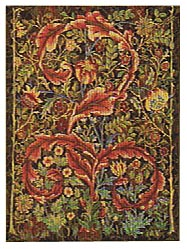 William Morris portiere tapestry, small size wallhanging