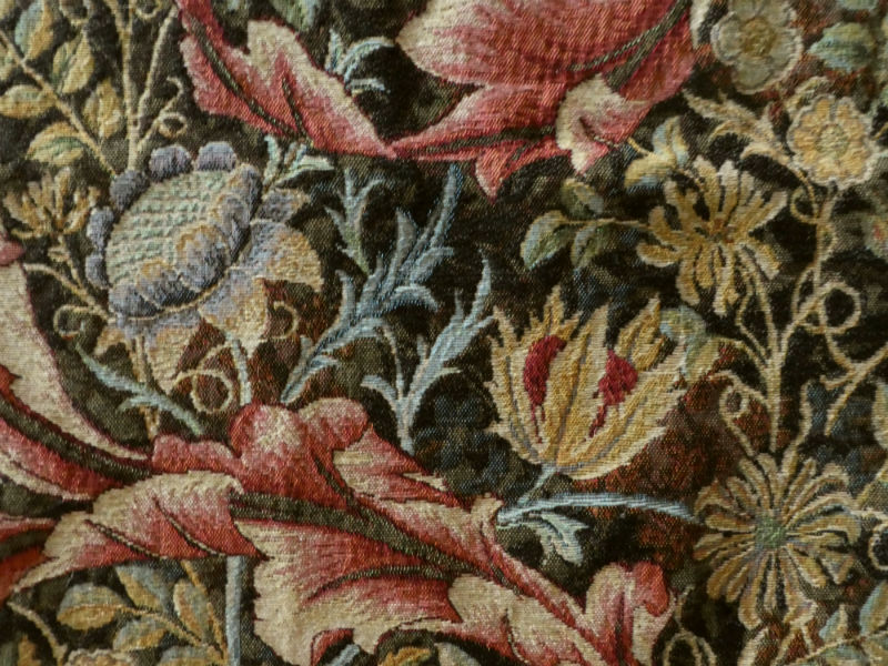 William Morris portiere tapestry wall-hanging