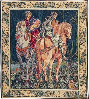 The Knights tapestry - Quest for the Holy Grail tapestries