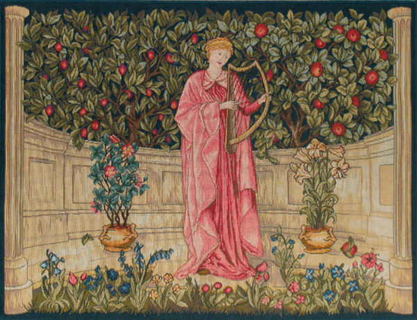 Minstrel tapestry - Morris and Co Arts & Crafts wall-hanging