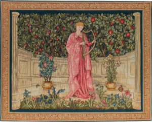 The Minstrel tapestry - Morris & Co Arts and Crafts