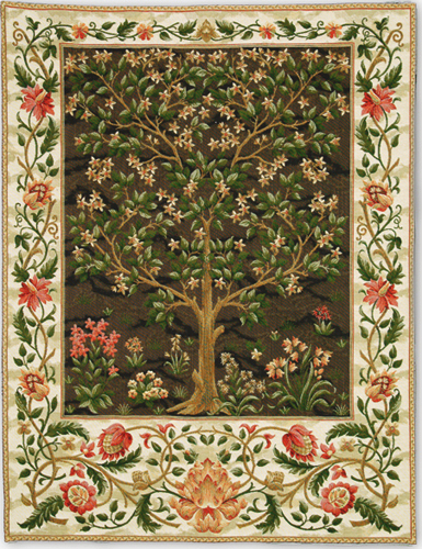 Tree Of Life Tapestry Arts And Crafts Tapestries