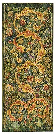 William Morris portiere wallhanging - tapestry woven in France