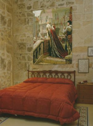 The Little Prince tapestry from a Pre-Raphaelite painting by Edmund Blair Leighton