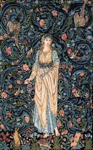 Flora tapestry - one of the Morris and Burne-Jones tapestries