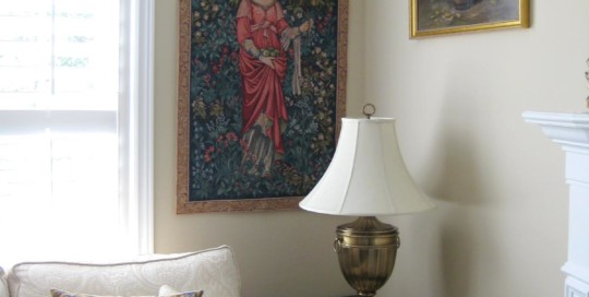 The Pomona tapestry by William Morris woven in France