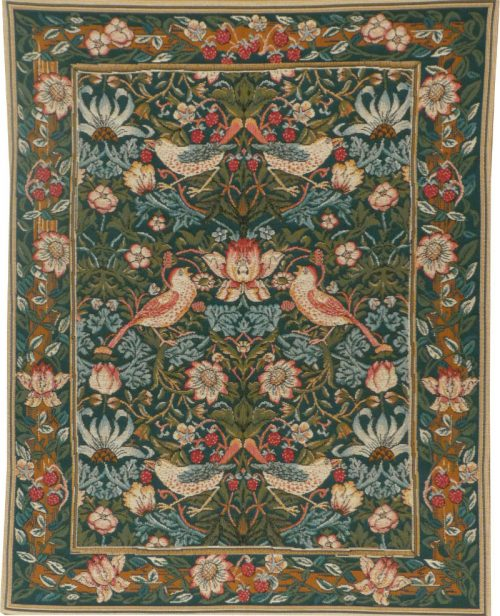 Strawberry Thief tapestry - William Morris wallhanging