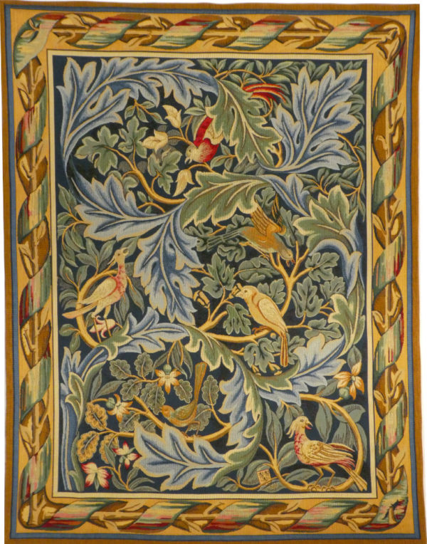 William Morris Birds tapestry wallhanging - Les Oiseaux tapestries
