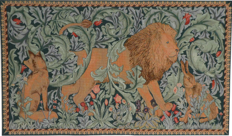 The Forest tapestry Lion small size
