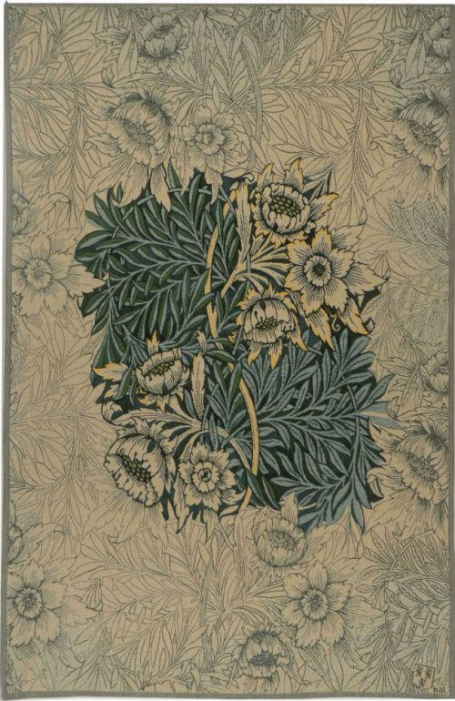 Willow tapestry, blue - William Morris wall tapestries
