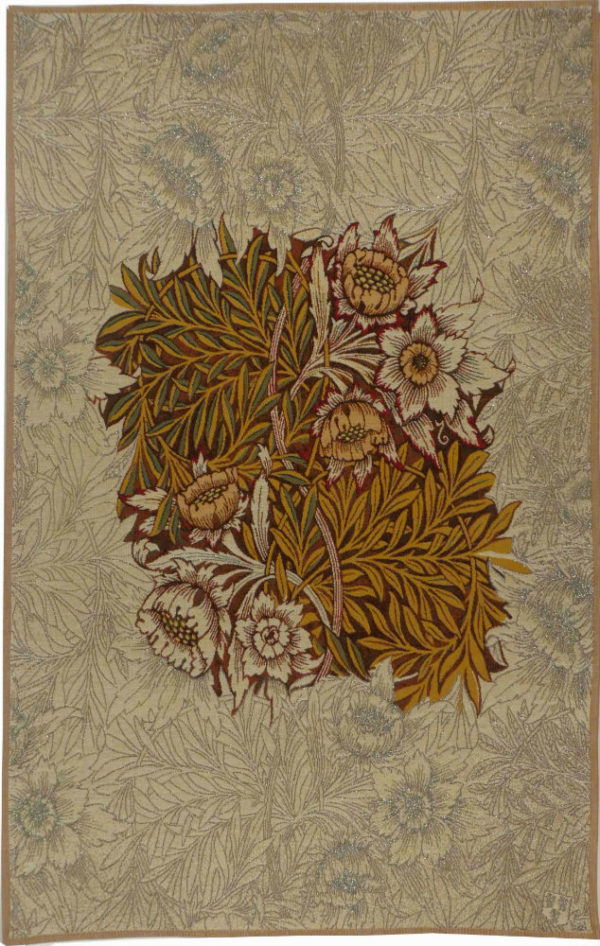 Willow tapestry, brown - William Morris wall tapestries