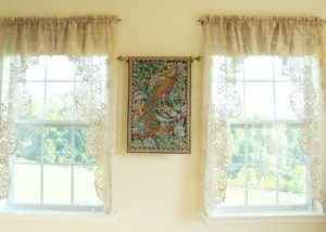 The William Morris Peacock tapestry