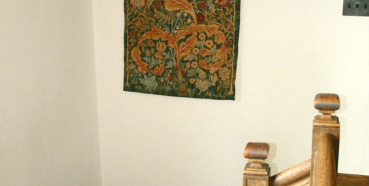 The William Morris portiere tapestry - in two colours and three sizes