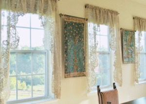 Two William Morris tapestries