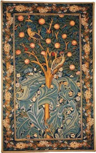 Woodpecker tapestry - the version of this William Morris tapestry without the verse.