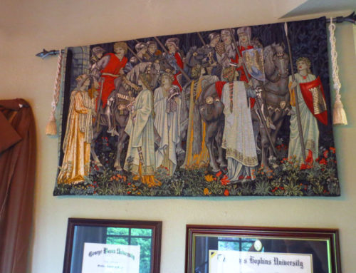 Arming of the Knights tapestry