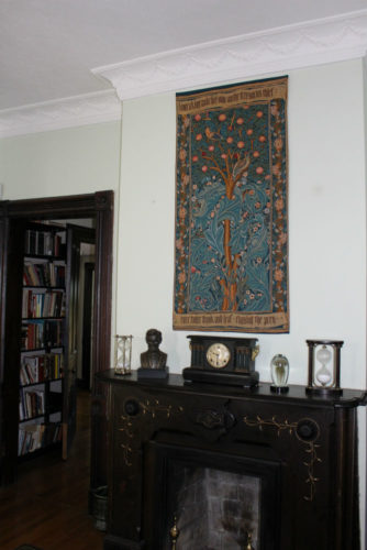 The Woodpecker Tapestry wall-hanging