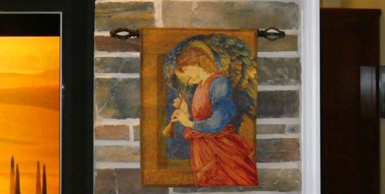 Sir Edward Burne-Jones Angel tapestry - angel tapestries