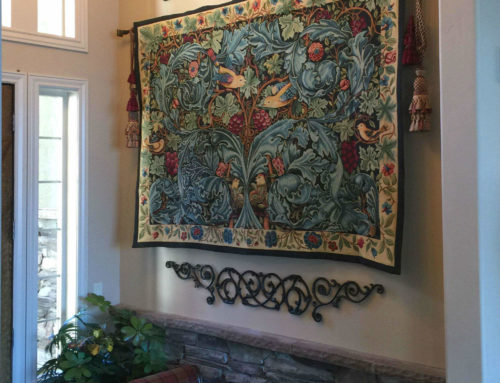 William Morris Acanthus and Vine tapestry