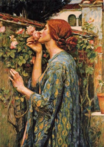 My Sweet Rose - John William Waterhouse tapestry