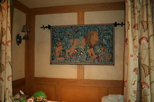 William Morris tapestries - Arts and Crafts tapestry art