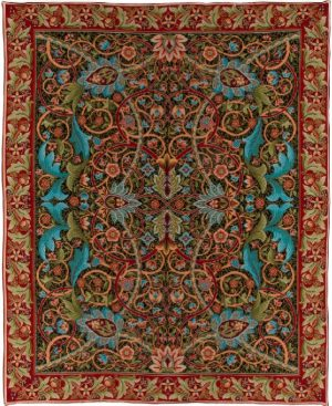 Bullerswood William Morris throw - Arts & Crafts tablecloth