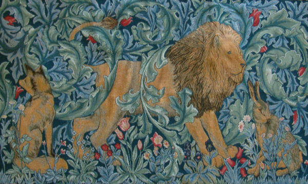 The Forest Tapestry with no border - Philip Webb and William Morris