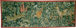 The Greenery Tapestry - John Henry Dearle tapestries